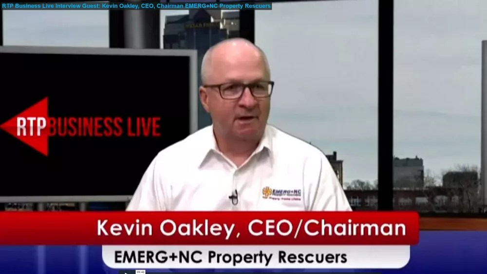 KevinOakley Chairman & CEO EMERG+NC Property Rescuers Interview