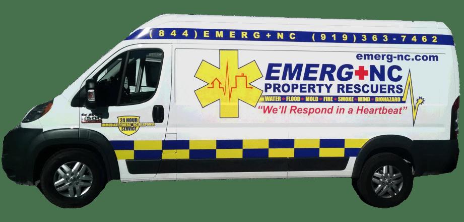 EMERG+NC Property Rescuers® Service Van