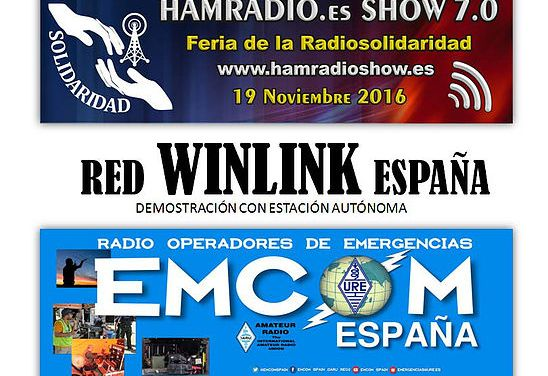 EMCOM ESPAÑA en HAMRADIO SHOW 7.0