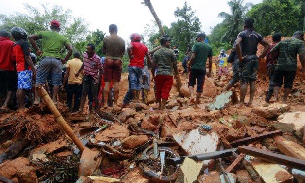 Radioaficionados en las inundaciones de Sri Lanka de 2017