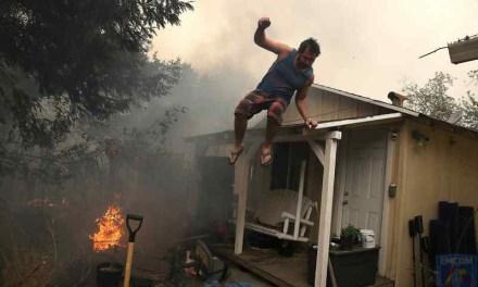 Radioaficionados en los incendios de California