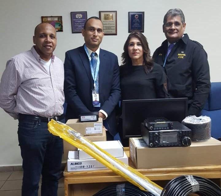Red de emergencias en la República Dominicana & radioaficionados