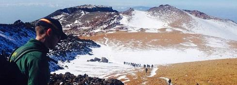 Rescate en alta montaña
