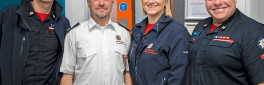 Firefighters Aiming For Christmas Number One With Charity