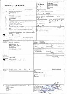 Envoi d'EMERGENT à CONNECTIC dossier douanes françaises EX1 2011_Page18
