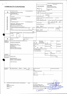 Envoi d'EMERGENT à CONNECTIC dossier douanes françaises EX1 2011_Page20