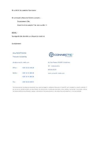 rapport du jeudi 12 janvier 2012 qui fait mention du virement de 24.926 euros à EMERGENT_Page2