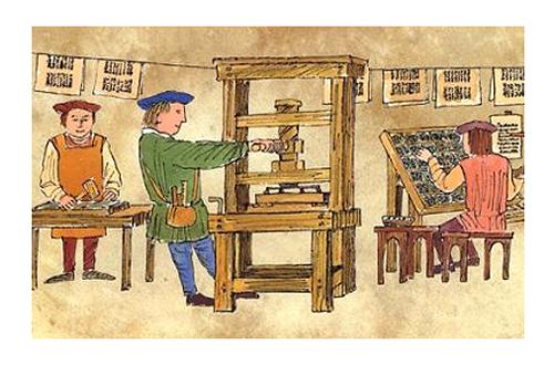 Gutenberg press 500