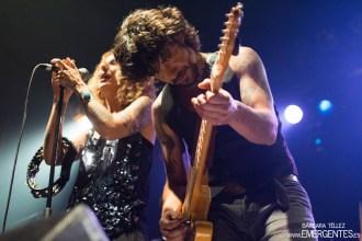Último concierto de Garaje Jack (Caracol, 30 mayo 2015) Bárbara Téllez, emergentes