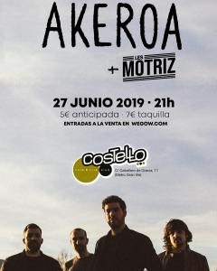 AKEROA+LES MOTRIZ @ Costello Club