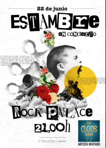 ESTAMBRE + THE CLODS @ Rock Palace