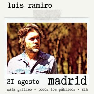 LUIS RAMIRO @ Sala Galileo