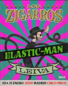 LOS ZIGARROS + LEIVA (INVERFEST) @ TEATRO CIRCO PRICE