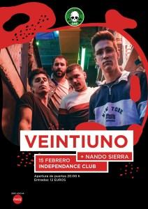 VEINTIUNO @ Independance Live