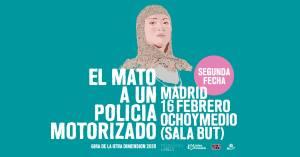 EL MATO A UN POLICIA MOTORIZADO @ Ochoymedio Club