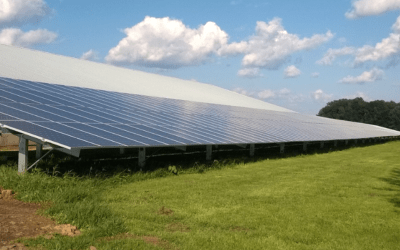 Technology from Emergent Solar Energy, Based in the Purdue Research Park, Is Helping Reduce Energy Costs on a Northern Indiana Hog Farm