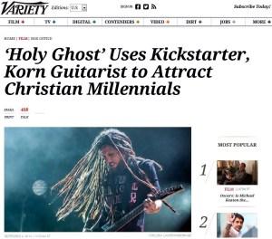 Head makes headlines 9.4.14, on behalf of heretical HG movie