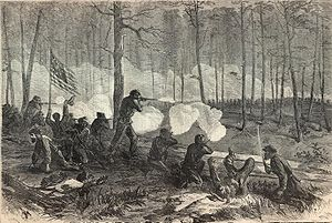 Battle of Ezra Church (courtesy of Harper's Weekly)