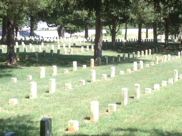 Final resting place for approximately 6,100 Union soldiers