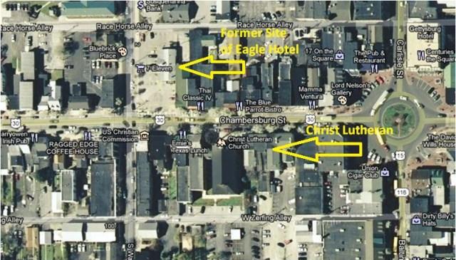 Eagle Hotel Map