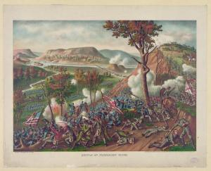 The Storming of Missionary Ridge. Courtesy of the Library of Congress.