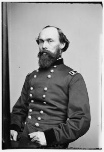 Maj. Gen. Gordon Granger, Sheridan's corps commander. Courtesy of the Library of Congress.