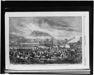 The Battle of Lookout Mountain. Courtesy of the Library of Congress.