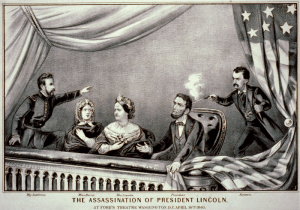 The assassination of Lincoln, by Currier & Ives