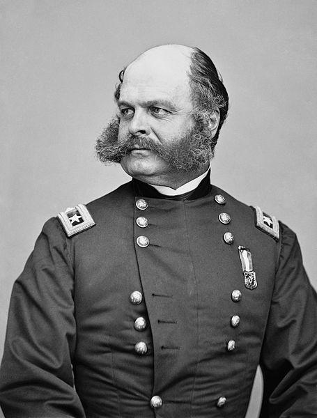 9th Corps commander Major General Ambrose E. Burnside