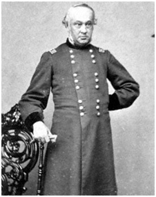 "Chief of Staff Henry W. ""Old Brains"" Halleck"