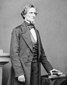 President of the Confederacy Jefferson Davis