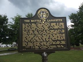 Lafayette-Marker