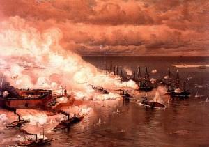 Bataille_de_la_baie_de_Mobile_par_Louis_Prang_(1824-1909)