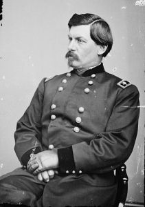 Major General George B. McClellan ran for president in 1864