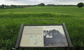 CVBT has been instrumental in preserving important chunks of Fredericksburg, Wilderness, Spotsylvania, and (pictured here) Chancellorsville