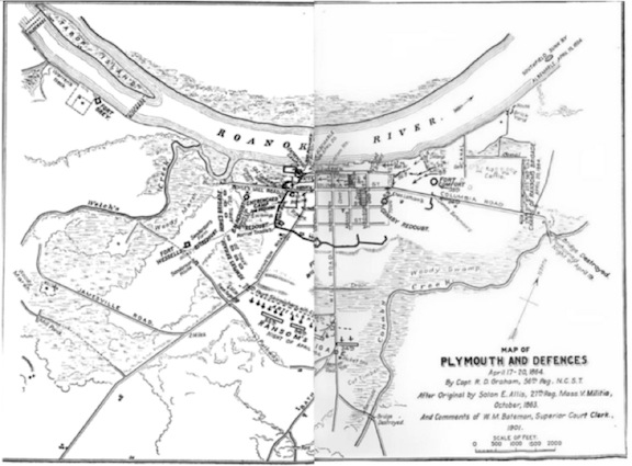Plymouth and its defenses.  (History of the Several Regiments and Brigades of North Carolina)