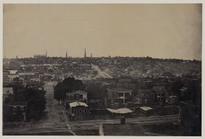 A view of the city of Richmond. Courtesy of the Library of Congress.