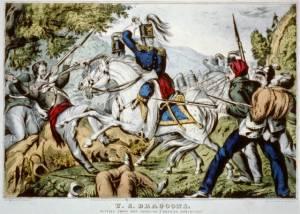 U.S. Dragoons in the War with Mexico. Courtesy of the Library of Congress.