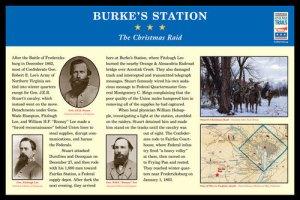 Burke Station Civil War Trails Marker