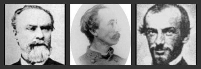 L to R, Brig. Gens. Jacob Sharp, Thomas Scott, & Arthur Manigault