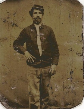 Frank Krug of the 53rd PA infantry, killed at Spotsylvania, May 12, 1864