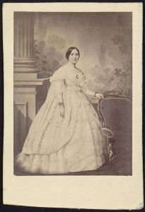 Varina Davis, 1860.  Image courtesy of the Library of Congress.