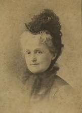 Emilie Todd Helm in her older years served as a Lincoln family representative. (Univ. of KY)
