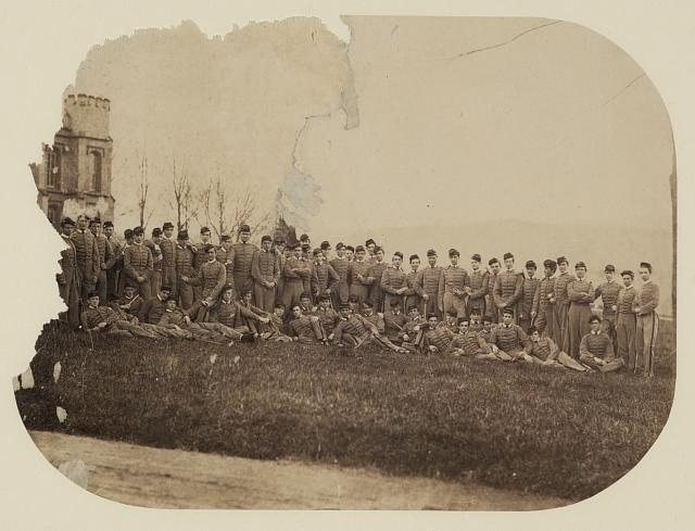 West Point Cadets During the Civil War, West Point, NY