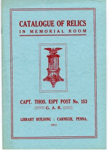 Espy Post Relics Cover