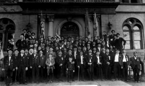 The 1905 Espy Post Memorial Day Photo.