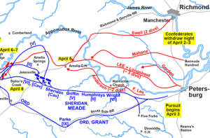 Appomattox Campaign, April 2-6, 1865