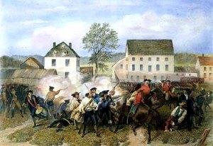 Battle of Lexington, Engraved 1874