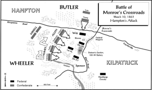 Battle of Monroe's Crossroads.