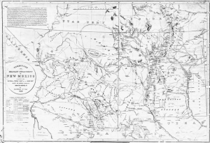 Territory and Military Department of New Mexico, U.S. War Department, 1859. Courtesy of Sharlot Hall Museum.
